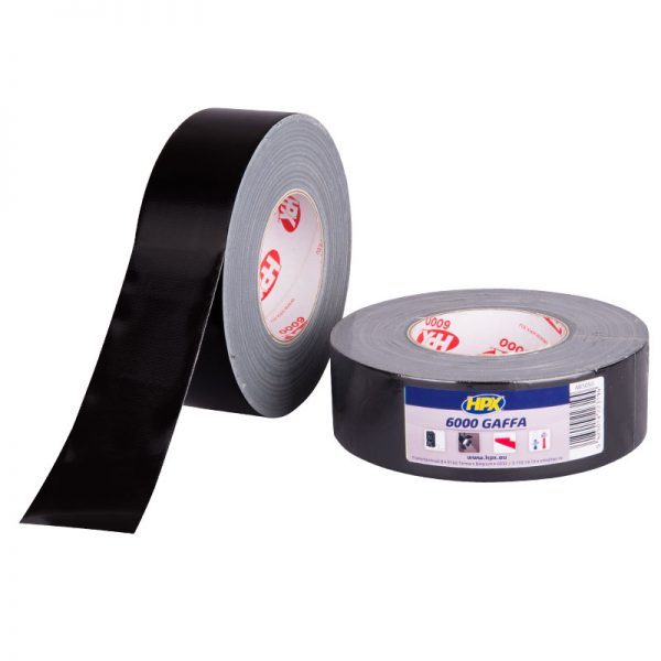 AB5050 - Gaffer 6000 tape - Sound and light - black - 50mm x 50m - 5425014223194