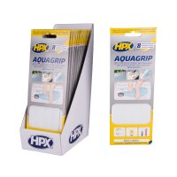 AG2024 - Aqua grip - Anti - slip tape - 8 pieces - transparent - 20mm x 240mm - 5425014225006