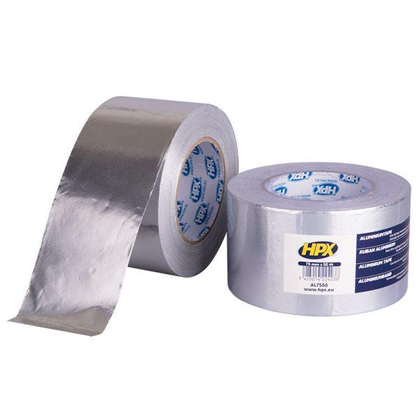 AL7550 - Aluminium tape - 75mm x 50m - 5425014224238