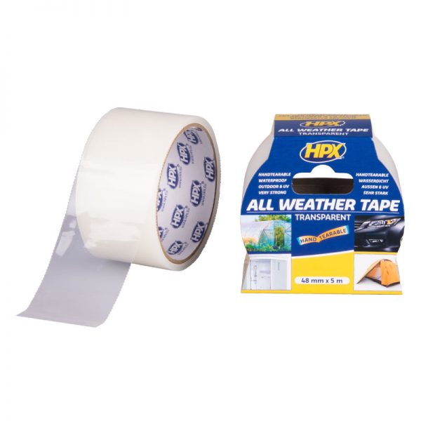 AT4805 - All Weather tape - transparent - 48mm x 5m - 5425014228199