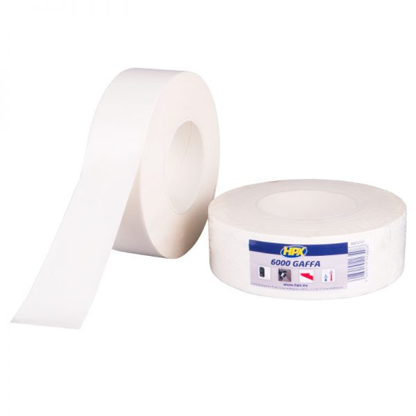 AW5050 - Gaffer 6000 tape - Sound and light - white - 50mm x 50m - 5425014223408