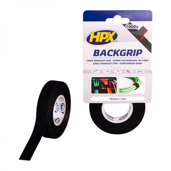 BG1605 - Backgrip - black - 16mm x 5m - 5407004561615