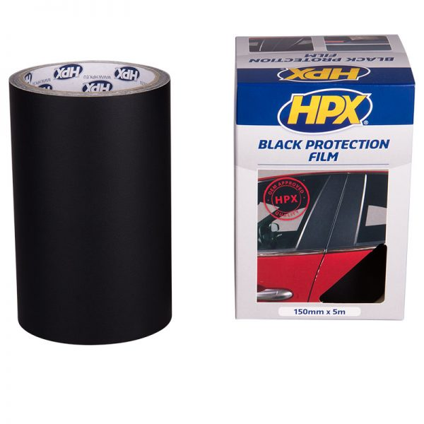 BP1505 - Car paint protection film - black - 150mm x 5m - 5425014223798