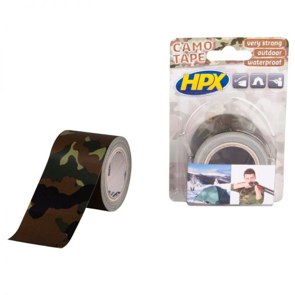 CA5005 - Repair tape - camouflage - 48mm x 5m - 5425014225686