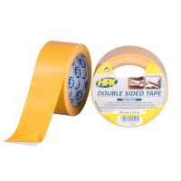 CE5025 - Double sided universal tape - yellow - 50mm x 25m - 5425014225440