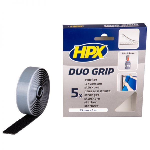 DG2502 - Duo grip fastener - black - 25mm x 2m - 5425014220759