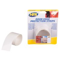 DO9012 - Door edge protection strips - transparent - 2 x 90cm x 12 5mm - 5425014228212