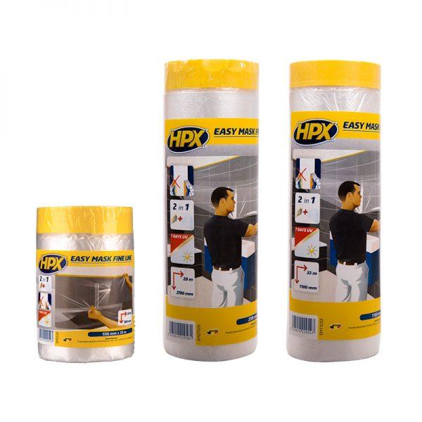 EM5533 - EM11033 - EM27020 - Easy mask fine line - film masking tape gold