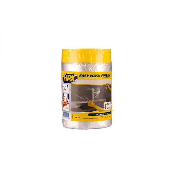 EM5533 - Easy mask fine line - film masking tape gold - 550mm x 33m - 5425014229523