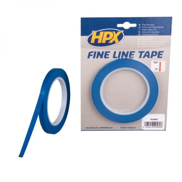 FL0933 - Fine line tape - blue - 9mm x 33m - 5425014225808