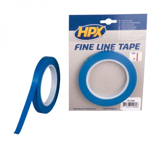 FL1233 - Fine line tape - blue - 12mm x 33m - 8711347114696