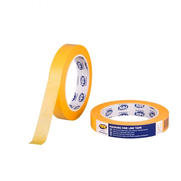 FP1950 - Gold Masking tape 4400 - orange - 19mm x 50m - 5425014224719