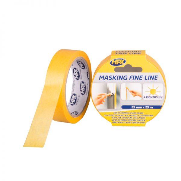 FP2525 - Masking tape 4400 - orange - 25mm x 25m - 5425014223231