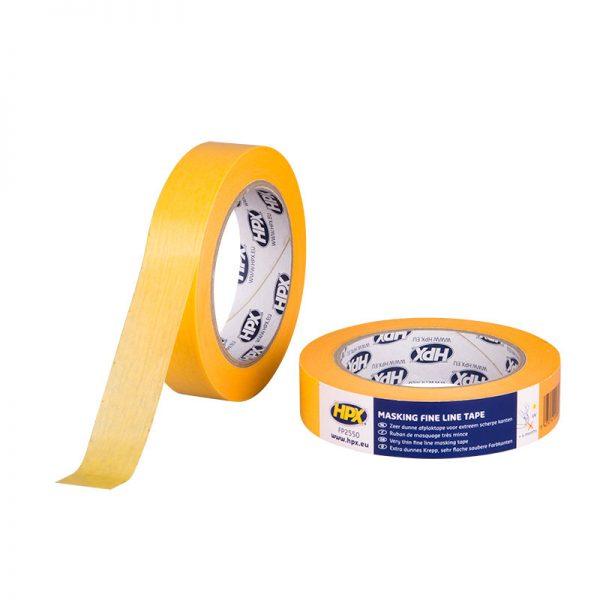 FP2550 - Gold masking tape 4400 - orange - 25mm x 50m - 5425014220858