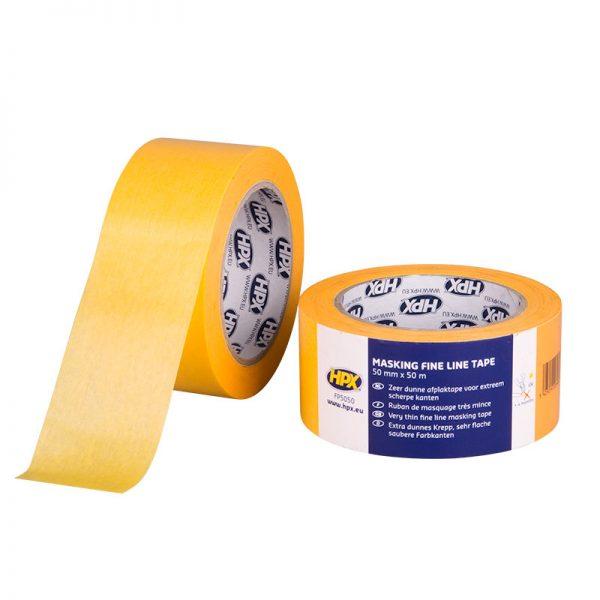 FP5050 - Gold masking tape 4400 - orange - 50mm x 50m - 5425014223484