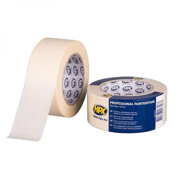 MA5050 - Masking tape 60C - cream - 50mm x 50m - 8711347173273