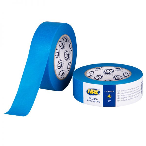 MU3850 - Masking tape UV - blue - 38mm x 50m - 5425014224931