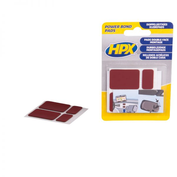 PB1000 - Power bond - Double sided HSA adhesive pads - anthracite - 5425014220346