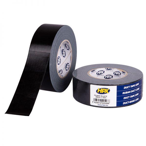 PE4850 - Duct tape 2200 - black - 48mm x 50m - 5425014225266