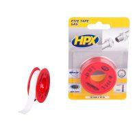 PT0012 - PTFE gas sealing tape blister - white - 12mm x 12m - 5425014227079