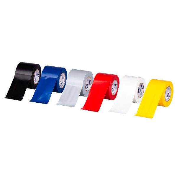 PVC insulating tape 52300 - yellow - 50mm x 20m