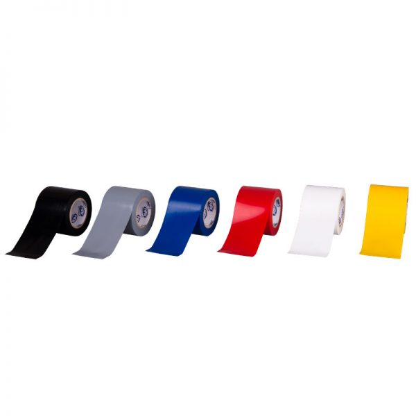 PVC insulating tape 52400 - yellow - 50mm x 10m