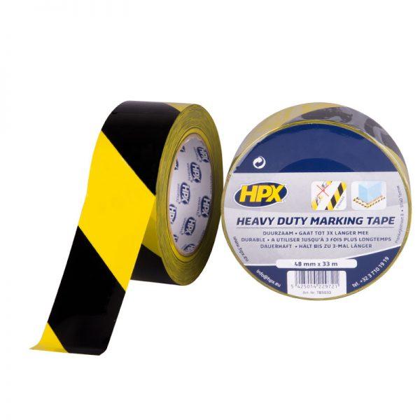 TB5033 - Heavy Duty Marking tape - yellow black - 48mm x 33m - 5425014229721