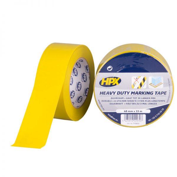 TY5033 - Heavy Duty Marking tape - yellow - 48mm x 33m - 5425014229707