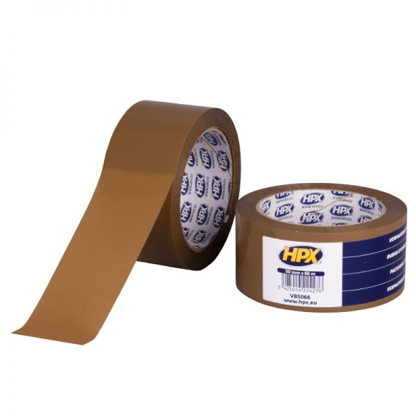 VB5066 - Packaging tape - brown - 50mm x 66m - 5425014224276