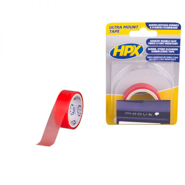 ZC10 - Ultra Mount double sided tape - transparent - 19mm x 1 5m - 8711347100002