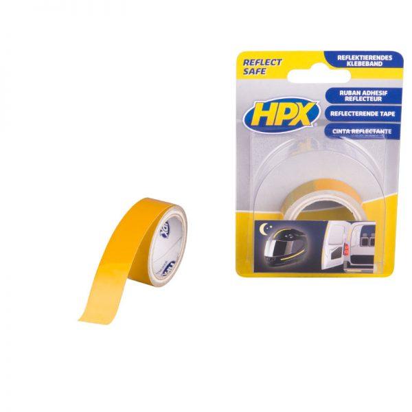 ZC11 - Reflect tape - yellow - 19mm x 1 5m - 8711347110001